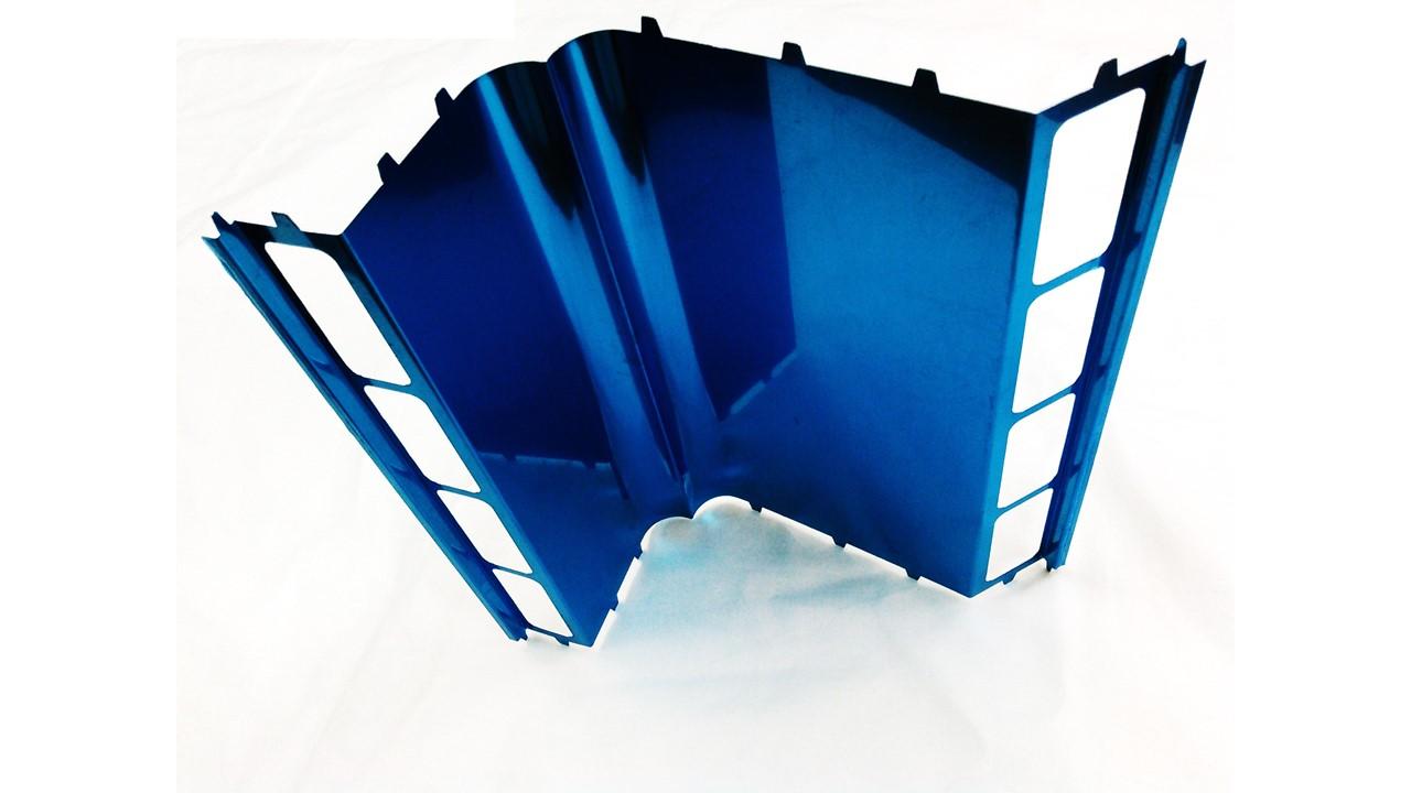 暖房機の熱反射板